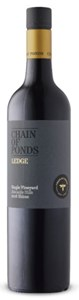 Chain of Ponds The Ledge Shiraz 2016