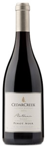 CedarCreek Estate Winery Platinum Block 2 Pinot Noir 2016