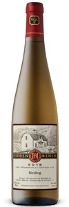 Hidden Bench Estate Riesling 2015