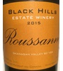 Black Hills Estate Winery Roussanne 2015