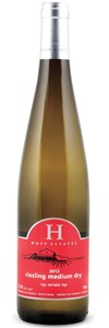 Huff Estates Winery Off Dry Riesling 2014
