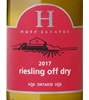 Huff Estates Winery Off Dry Riesling 2017