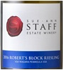 Sue-Ann Staff Estate Winery Robert's Block Riesling 2016
