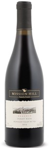 Mission Hill Family Estate Reserve Pinot Noir 2010