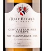 Reif Estate Winery Reserve Gewürztraminer 2017