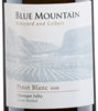 Blue Mountain Vineyard and Cellars Pinot Blanc 2017