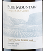 Blue Mountain Vineyard and Cellars Sauvignon Blanc 2018