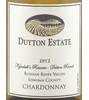 Dutton Estate Winery Kyndall's Reserve Chardonnay 2012