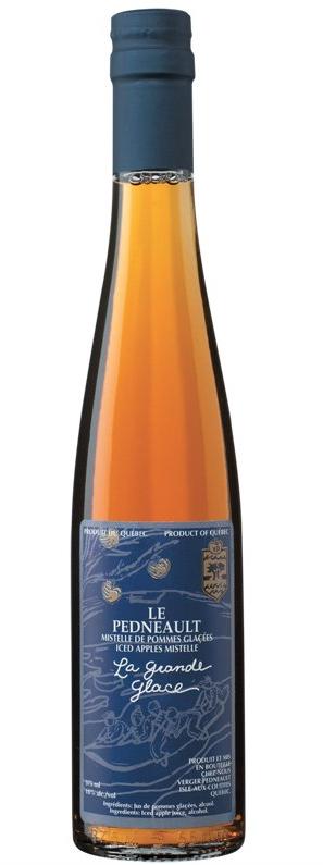 Verger pedneault la grande glace mistelle de pomme glac expert wine review natalie maclean for Grande glace