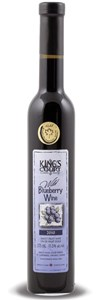 King's Court Estate Winery Sweet Fruit Wine Wild Blueberry 2015