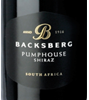 Backsberg Pumphouse Shiraz 2012