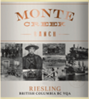 Monte Creek Ranch Winery Thompson Valley Riesling 2016