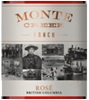 Monte Creek Ranch Winery Rose 2016