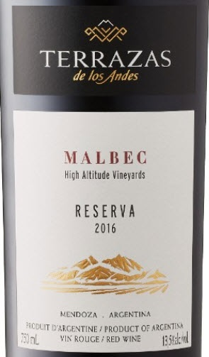 Terrazas De Los Andes Malbec 2016 Expert Wine Review
