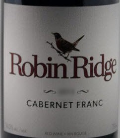 Robin Ridge Winery Cabernet Franc 2015