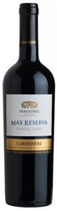 Errazuriz Single Vineyard, Max Reserva Estates Carmenère 2009