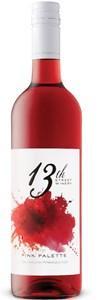 13th Street Winery Pink Palette Rosé 2018