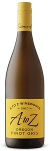 A To Z Pinot Gris 2015