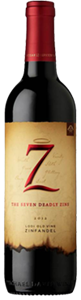 7 Deadly Zins Old Vine Zinfandel 2014