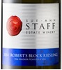 Sue-Ann Staff Estate Winery Robert's Block Riesling 2009