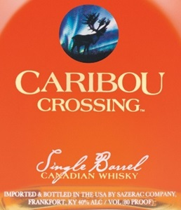 Caribou Crossing Single Barrel Canadian Whisky