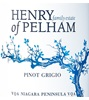 Henry of Pelham Winery Pinot Grigio 2016