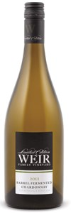 Mike Weir Winery Barrel Fermented Chardonnay 2012