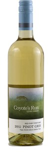 Coyote's Run Estate Winery Red Paw Vineyard Pinot Gris 2012