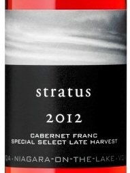 Stratus Special Select Late Harvest Cabernet Franc 2012
