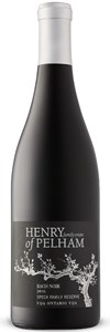 Henry of Pelham Winery Speck Family Reserve Baco Noir 2015