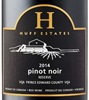 Huff Estates Winery Reserve Pinot Noir 2014