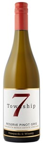Township 7 Vineyards & Winery Okanagan Reserve  Pinot Gris 2017