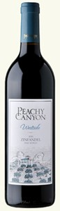 Peachy Canyon Winery 05 Peachy Canyon Westside Zinfandel (Peachy) 2007