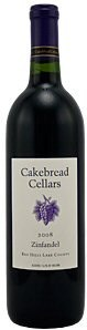 07zinfandel Cakebread Red Hills Lake County (Kobra 2007