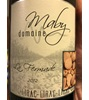 Domaine Maby  La Fermade Rouge 2012