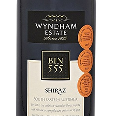 Wyndham Estate Bin 555 Shiraz Special Edition 2012