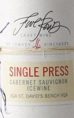 Five Rows Craft Wine of Lowrey Vineyards Cabernet Sauvignon Ice Wine 2009