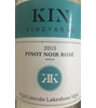 Kin Vineyards Pinot Noir Rose 2015