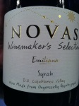 Novas Winemaker's Selection Syrah by Emiliana 2009