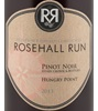 Rosehall Run Hungry Point Pinot Noir 2014
