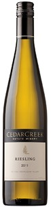 CedarCreek Estate Winery Riesling 2011