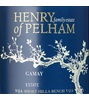 Henry of Pelham Winery Gamay 2015