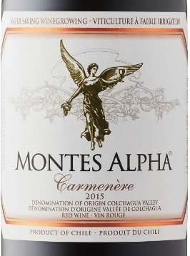 Image result for Montes Alpha Carmenere Colchagua Valley