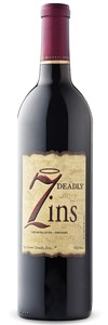 7 Deadly Zins Old Vine Zinfandel 2009