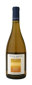Upper Bench Estate Winery Pinot Blanc 2011
