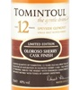 Tomintoul 12 Years Old Oloroso Sherry Cask Finish Single Malt