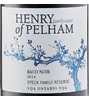 Henry of Pelham Winery Speck Family Reserve Baco Noir 2014