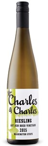 Sutter Home Winery Charles & Charles Art Den Hoed Vineyard Riesling 2015