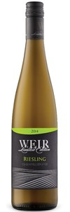 Mike Weir Winery Limited Edition Riesling 2012