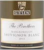 Giesen The Brothers Sauvignon Blanc 2012